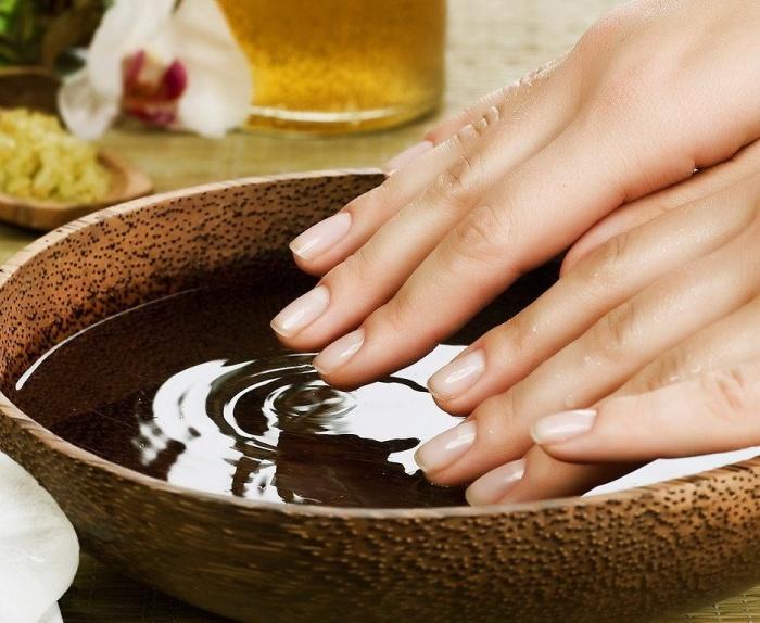 Лечение грибка ногтей народными средствами уксусом