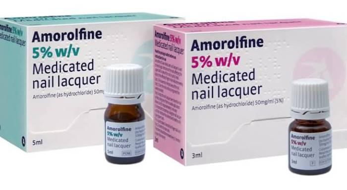Препарат Аморолфин от грибка